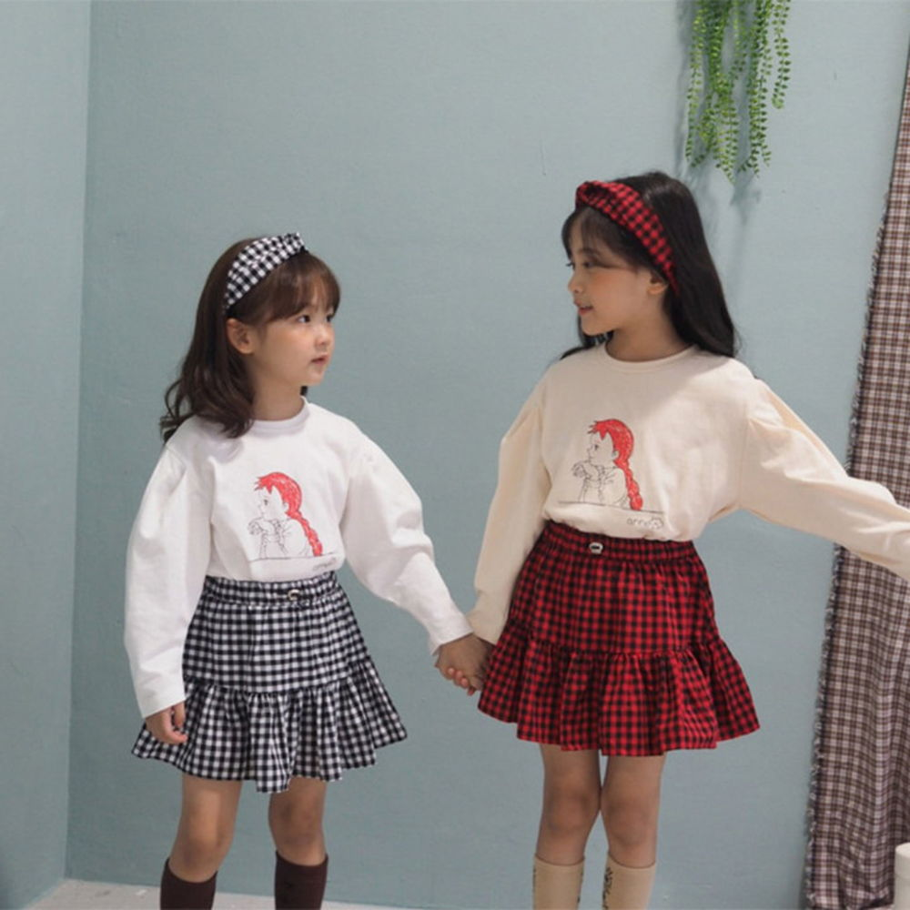 BUBBLE KISS - BRAND - Korean Children Fashion - #Kfashion4kids - Ann Puff Tee