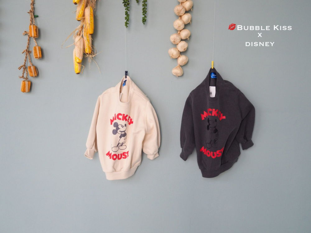 BUBBLE KISS - Korean Children Fashion - #Kfashion4kids - Vintage Mickey MTM