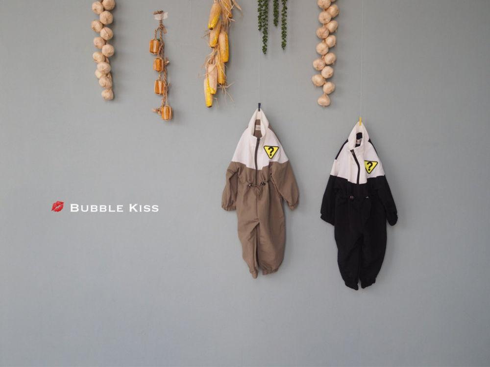 BUBBLE KISS - Korean Children Fashion - #Kfashion4kids - Anorak Jumpsuit