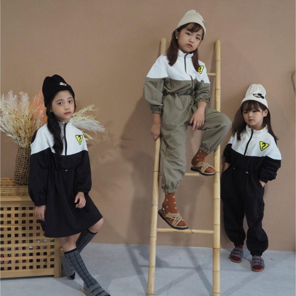 BUBBLE KISS - BRAND - Korean Children Fashion - #Kfashion4kids - Anorak Jumpsuit