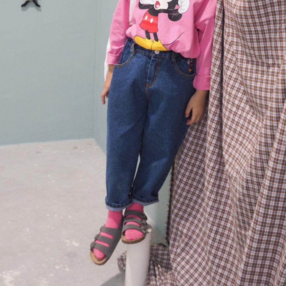 BUBBLE KISS - BRAND - Korean Children Fashion - #Kfashion4kids - Mickey Denim Pants