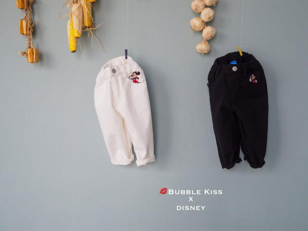 BUBBLE KISS - Korean Children Fashion - #Kfashion4kids - Mickey Cotton Pants
