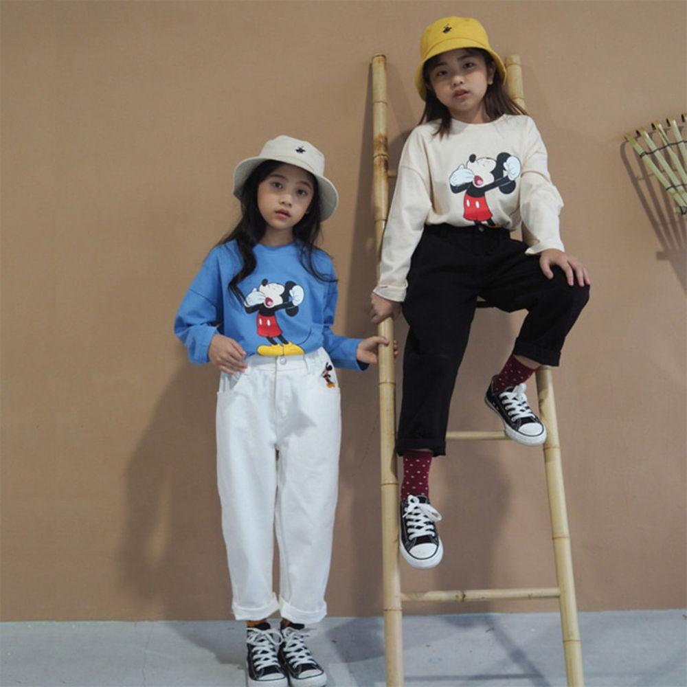 BUBBLE KISS - BRAND - Korean Children Fashion - #Kfashion4kids - Mickey Cotton Pants