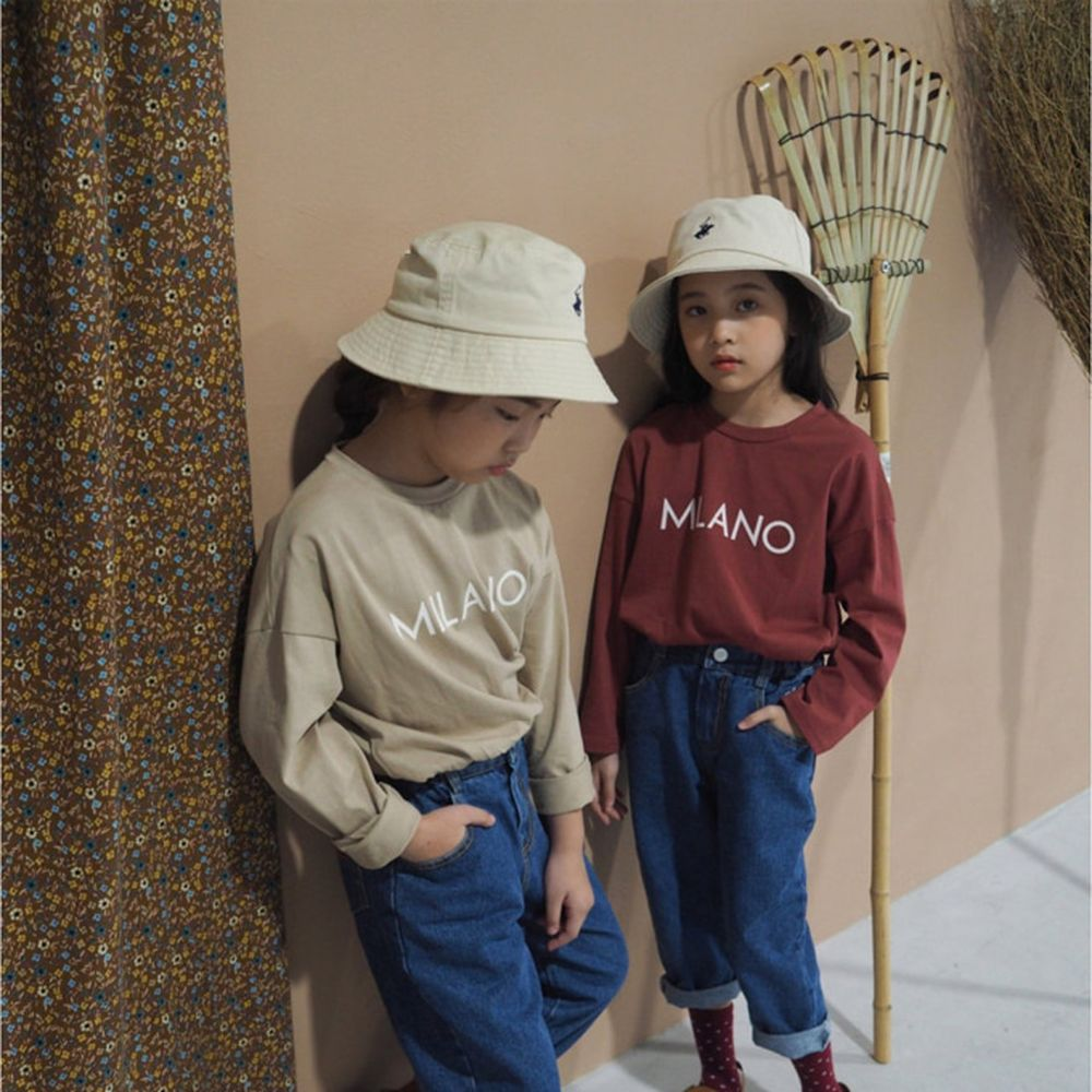 BUBBLE KISS - BRAND - Korean Children Fashion - #Kfashion4kids - Milano Tee