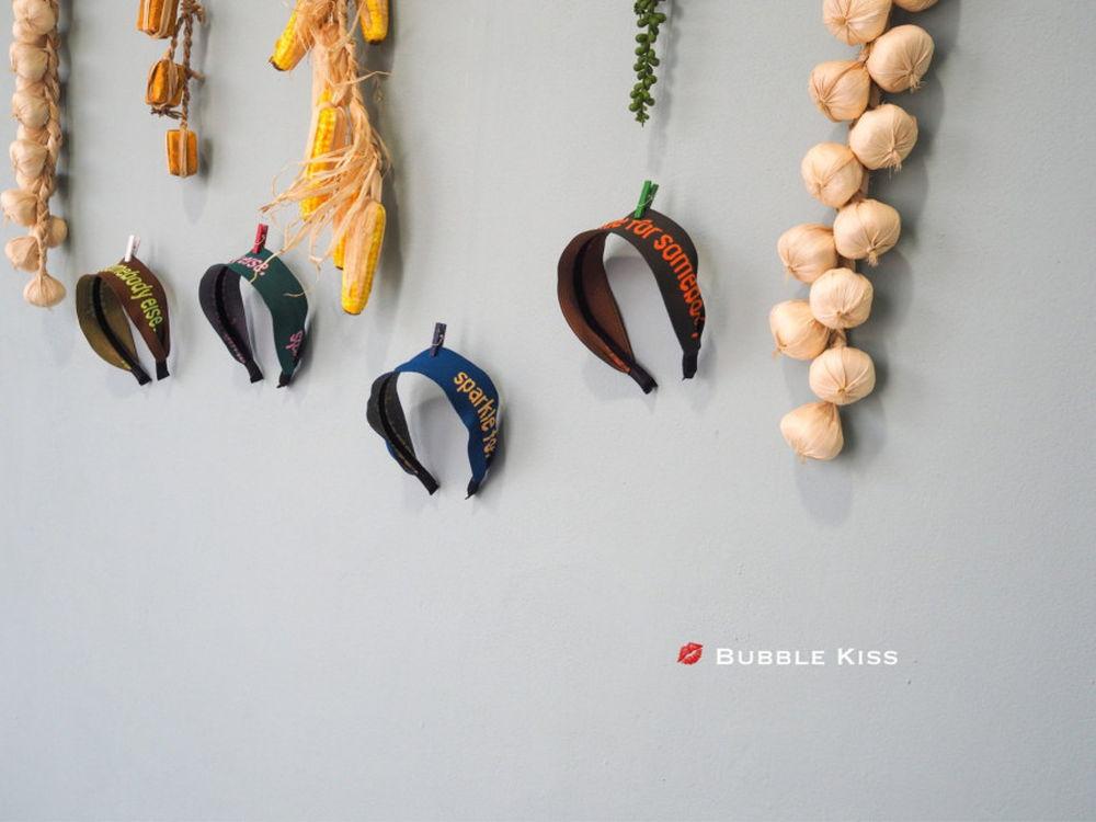 BUBBLE KISS - Korean Children Fashion - #Kfashion4kids - Jacquard Hairband