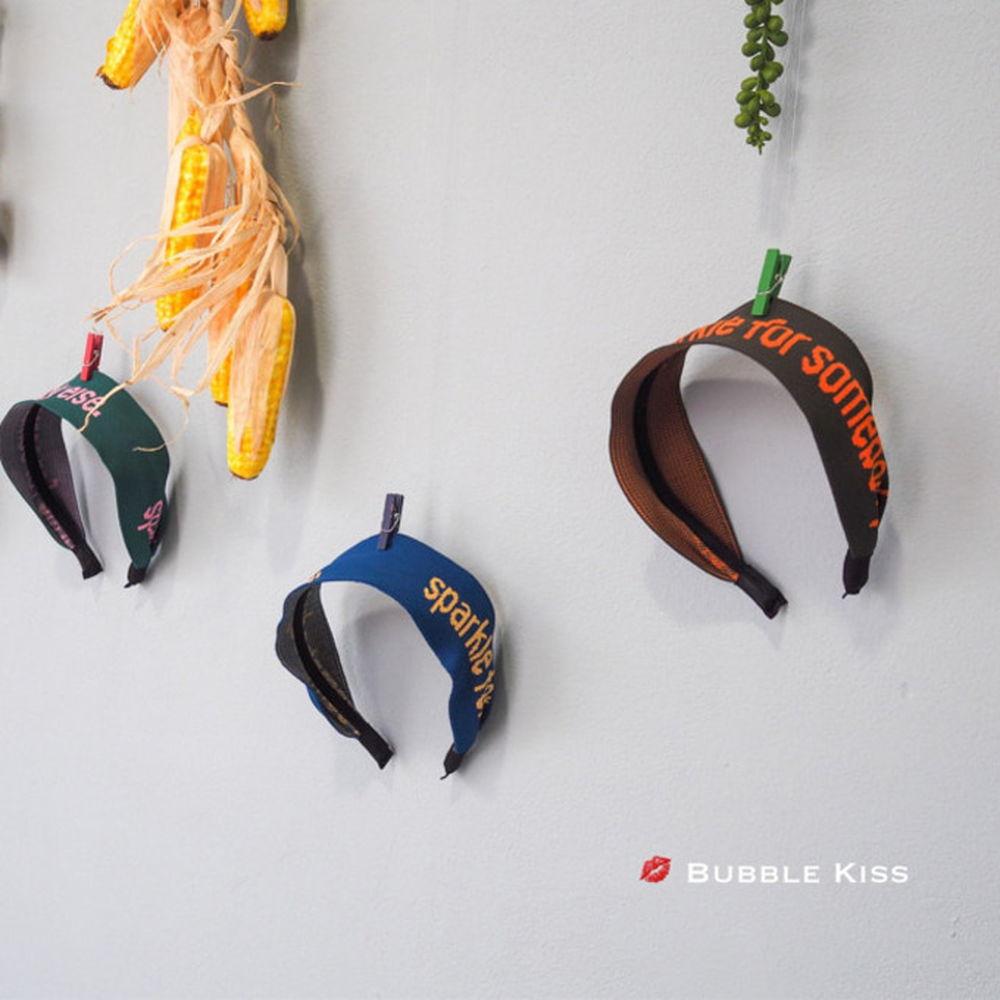 BUBBLE KISS - BRAND - Korean Children Fashion - #Kfashion4kids - Jacquard Hairband