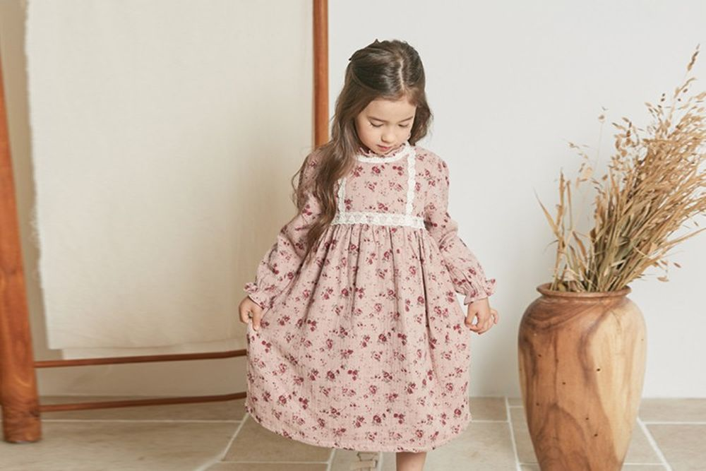 COCO RIBBON - BRAND - Korean Children Fashion - #Kfashion4kids - Laura One-piece