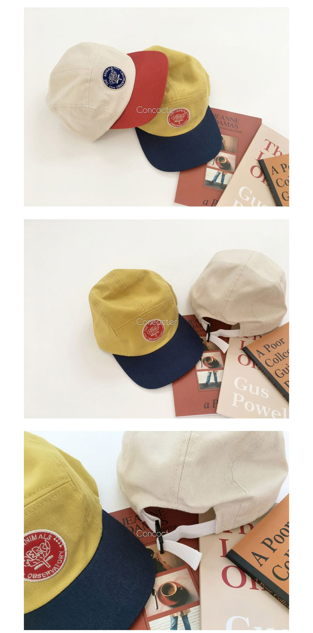 CONCOCTER - Korean Children Fashion - #Kfashion4kids - 7080 Retro Ball Cap - 3