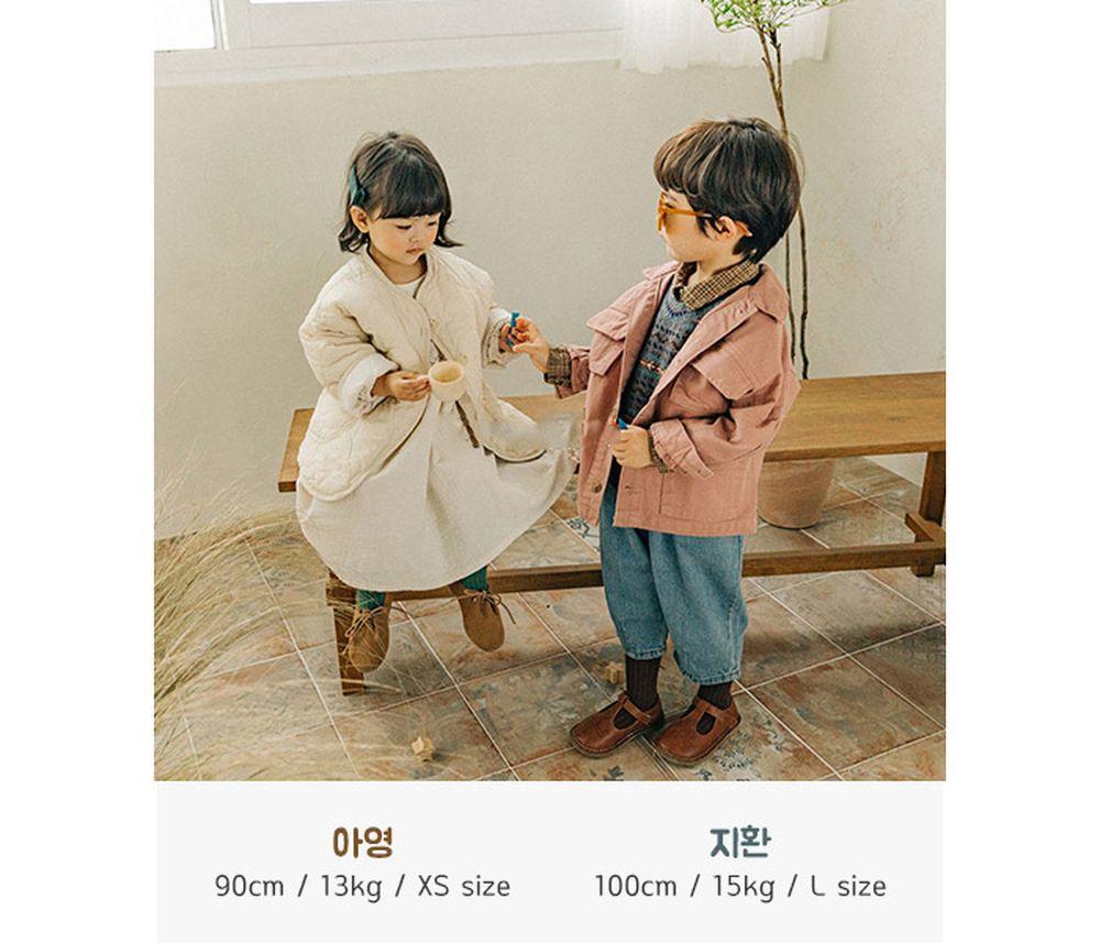 CONCOCTER - Korean Children Fashion - #Kfashion4kids - Kara Stripe Knit Cardigan - 4