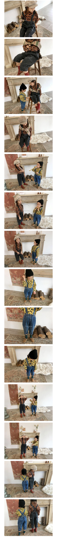 CONCOCTER - Korean Children Fashion - #Kfashion4kids - Cute Suspender Baggy Pants - 2