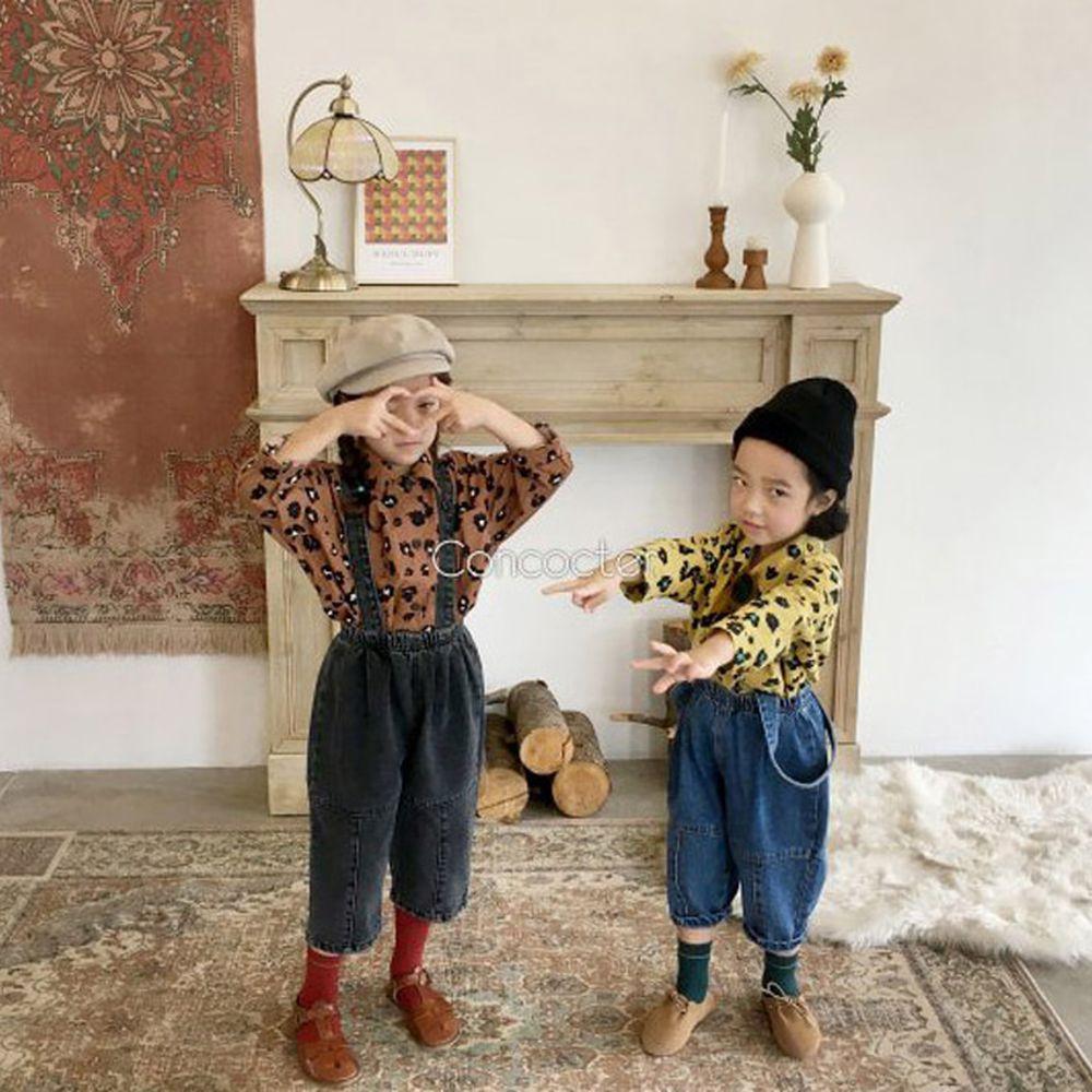 CONCOCTER - BRAND - Korean Children Fashion - #Kfashion4kids - Cute Suspender Baggy Pants