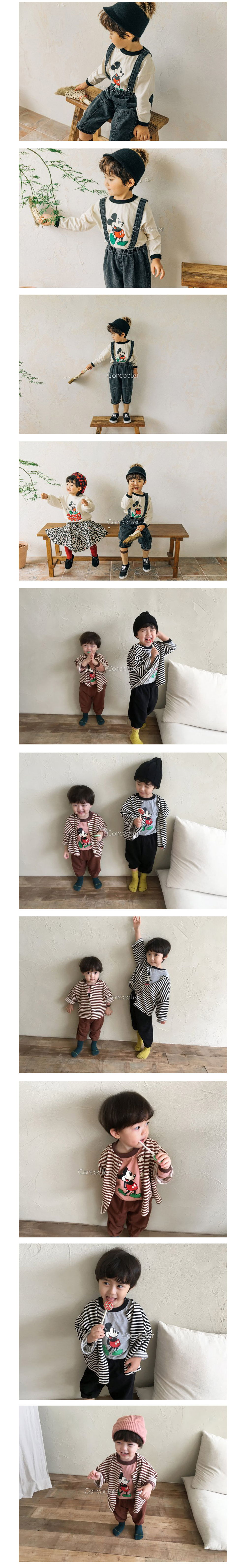 CONCOCTER - Korean Children Fashion - #Kfashion4kids - Mickey Colored Tee - 2