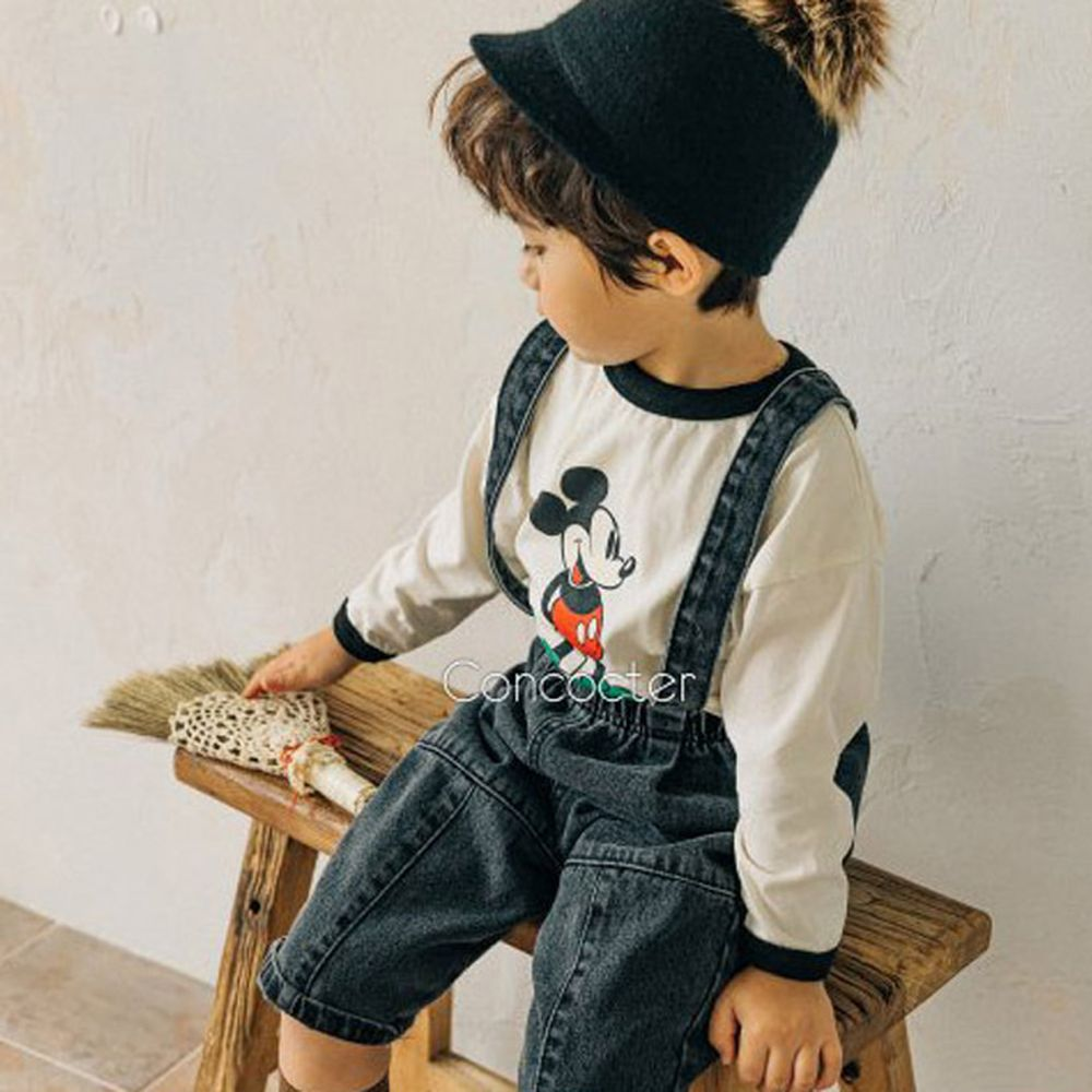 CONCOCTER - BRAND - Korean Children Fashion - #Kfashion4kids - Mickey Colored Tee