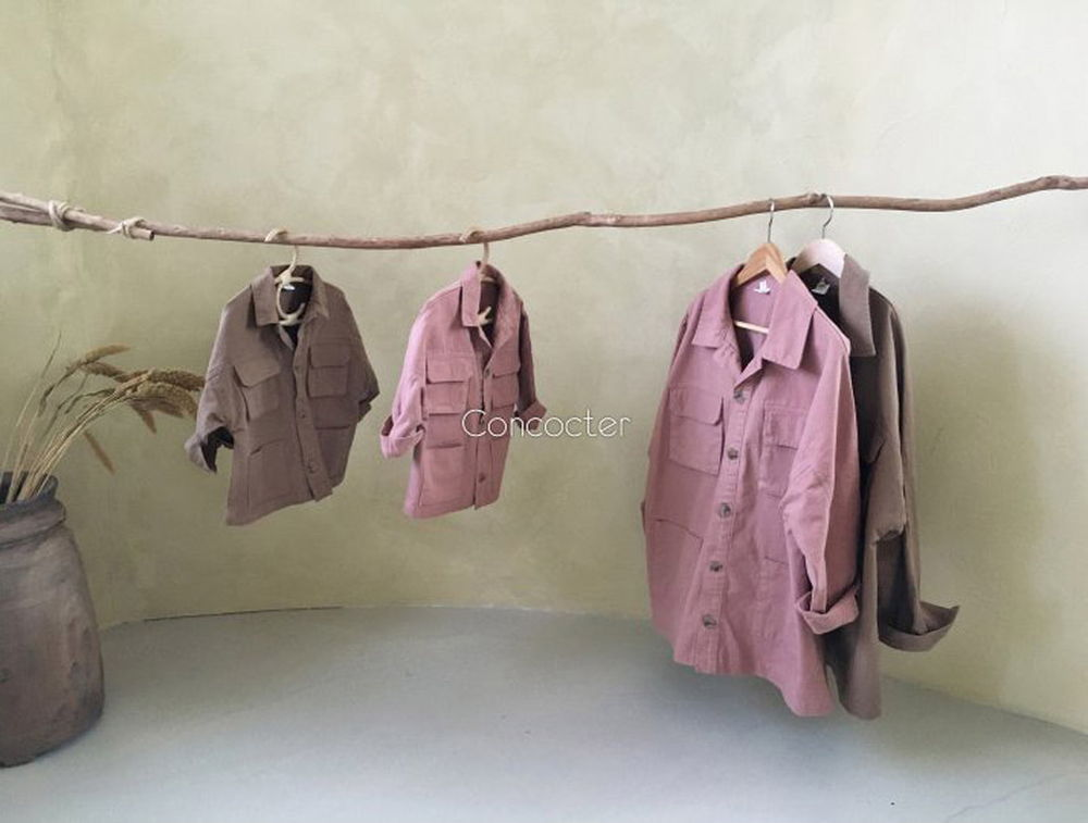 CONCOCTER - Korean Children Fashion - #Kfashion4kids - Boyfit Field Jacket