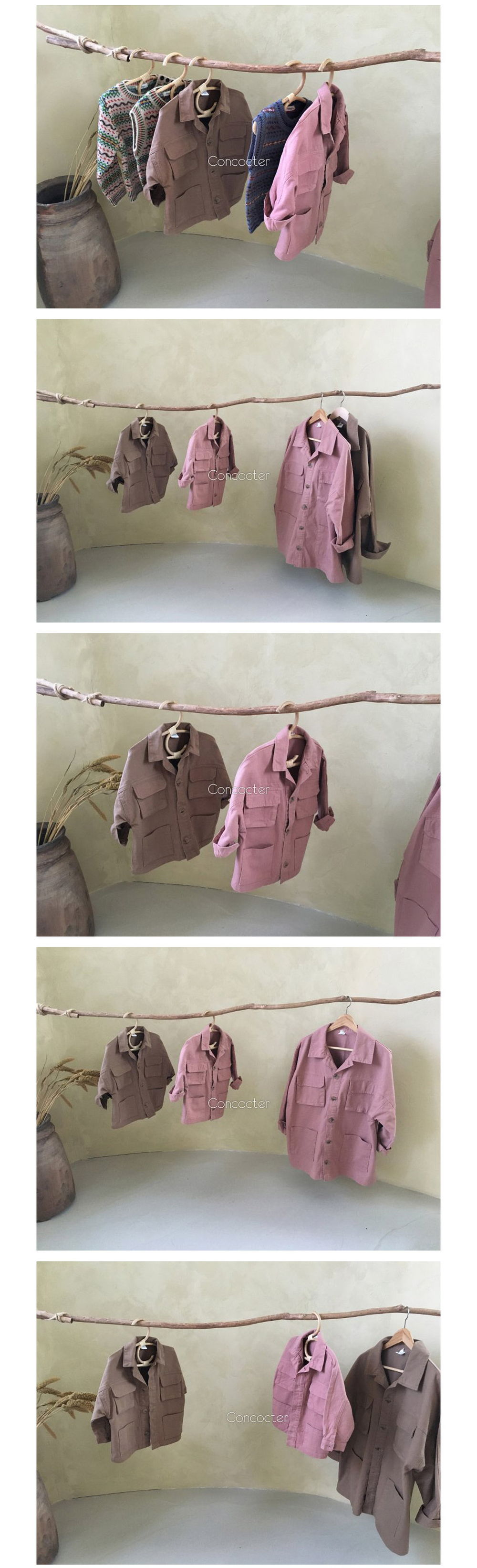 CONCOCTER - Korean Children Fashion - #Kfashion4kids - Boyfit Field Jacket - 3
