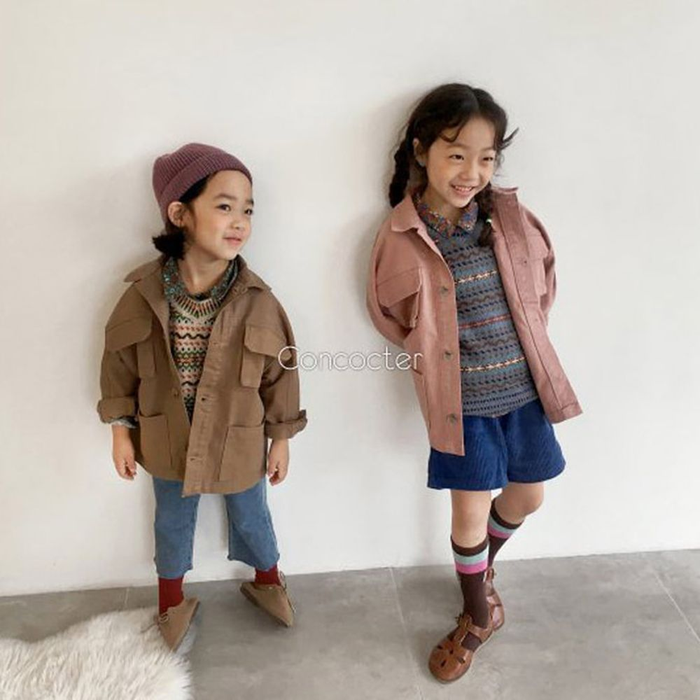 CONCOCTER - BRAND - Korean Children Fashion - #Kfashion4kids - Boyfit Field Jacket