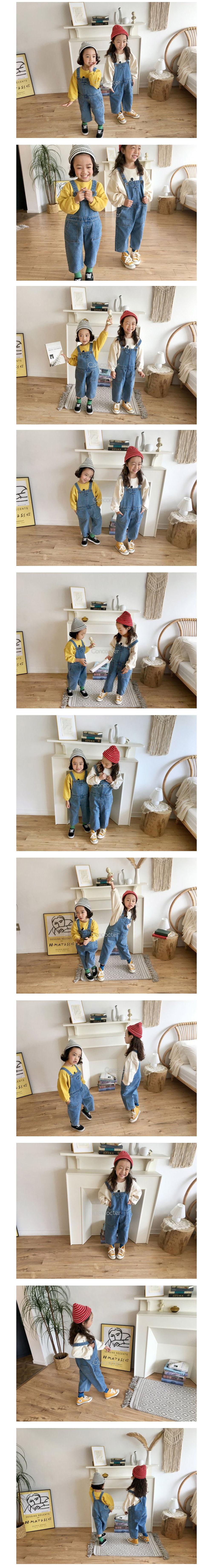 CONCOCTER - Korean Children Fashion - #Kfashion4kids - Fanfare Suspender Overalls - 2