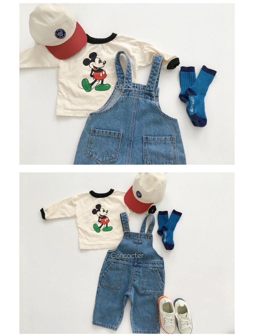 CONCOCTER - Korean Children Fashion - #Kfashion4kids - Fanfare Suspender Overalls - 3