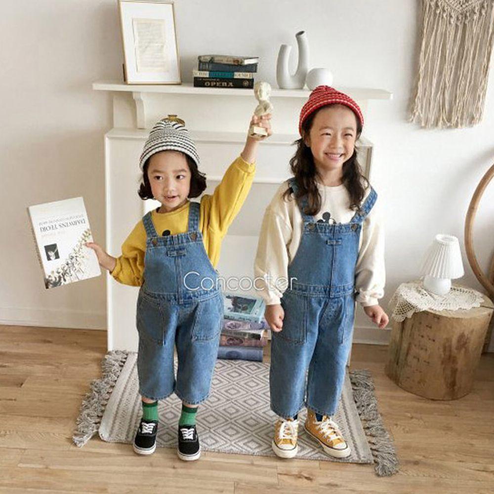 CONCOCTER - BRAND - Korean Children Fashion - #Kfashion4kids - Fanfare Suspender Overalls