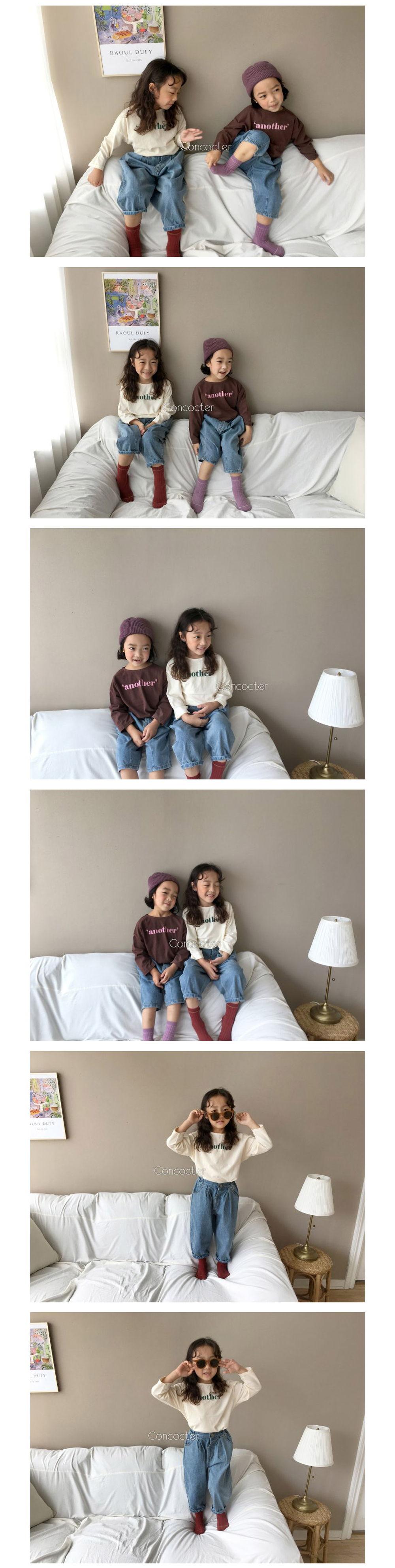 CONCOCTER - Korean Children Fashion - #Kfashion4kids - Another Basic Tee - 2