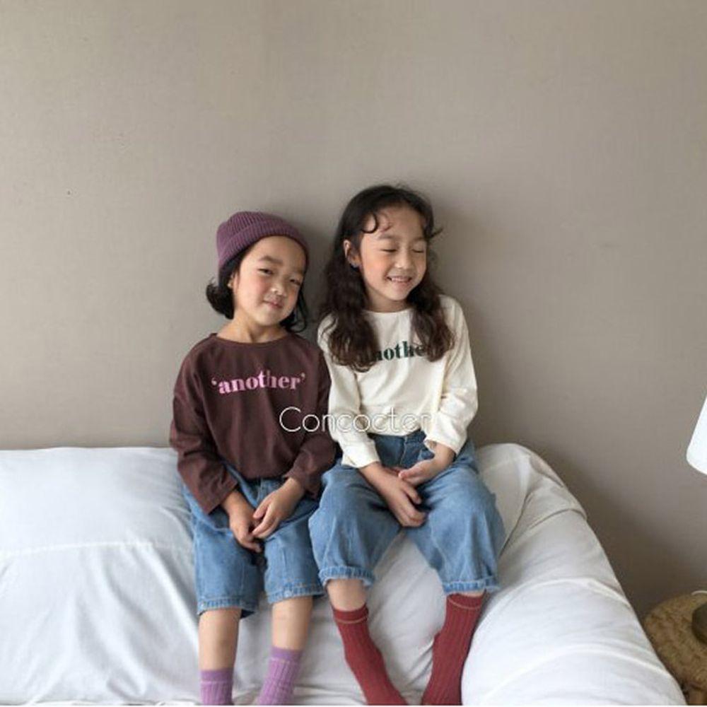CONCOCTER - BRAND - Korean Children Fashion - #Kfashion4kids - Another Basic Tee