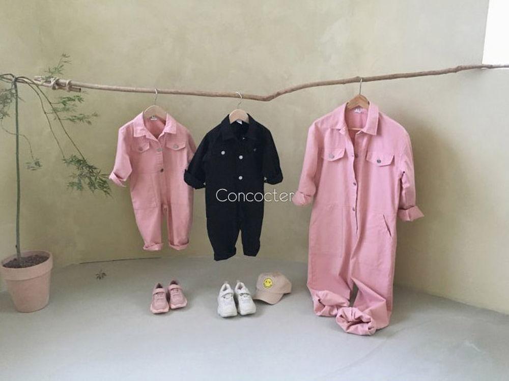 CONCOCTER - Korean Children Fashion - #Kfashion4kids - Want You Jumpsuit