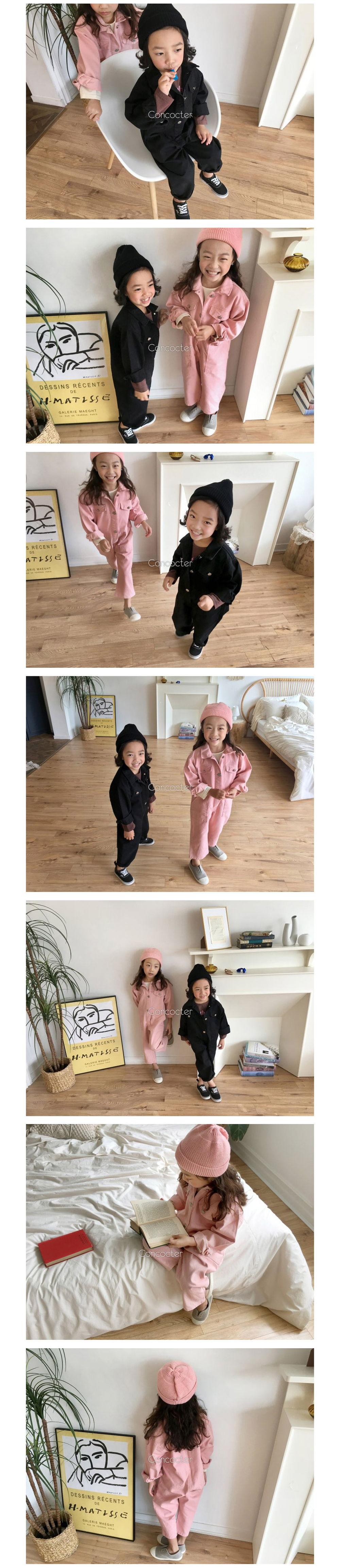 CONCOCTER - Korean Children Fashion - #Kfashion4kids - Want You Jumpsuit - 2