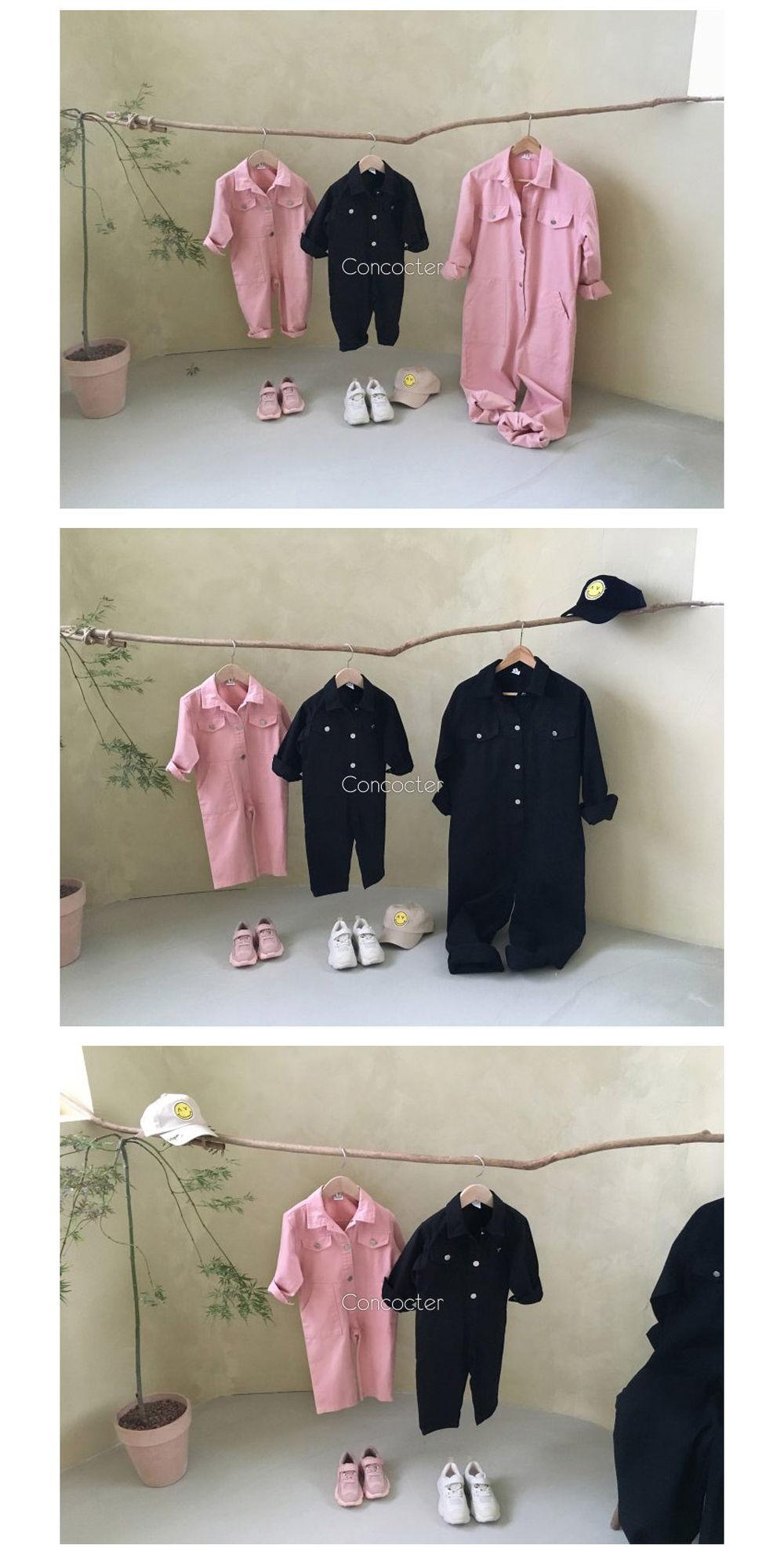 CONCOCTER - Korean Children Fashion - #Kfashion4kids - Want You Jumpsuit - 3