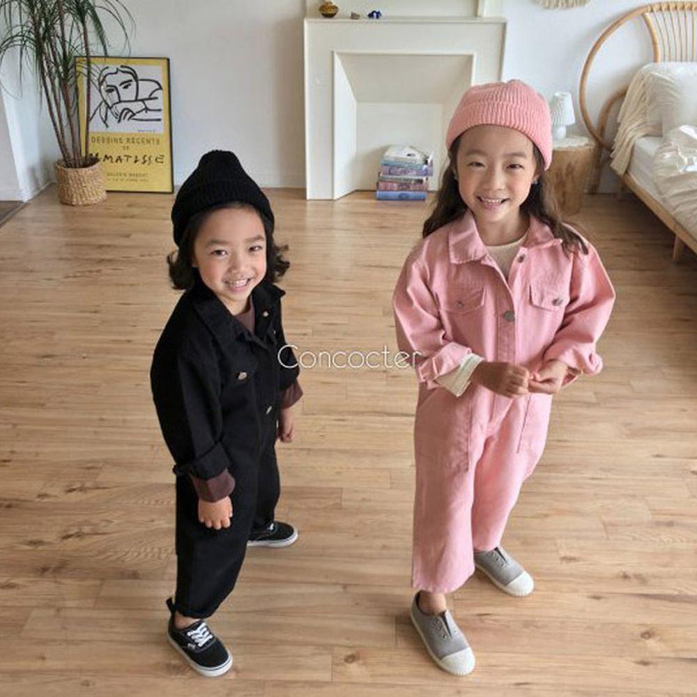 CONCOCTER - BRAND - Korean Children Fashion - #Kfashion4kids - Want You Jumpsuit