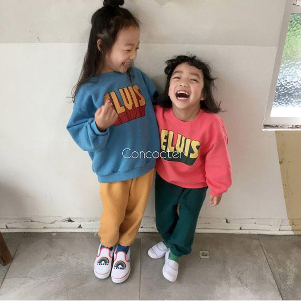 CONCOCTER - BRAND - Korean Children Fashion - #Kfashion4kids - Elvis Top Bottom Set