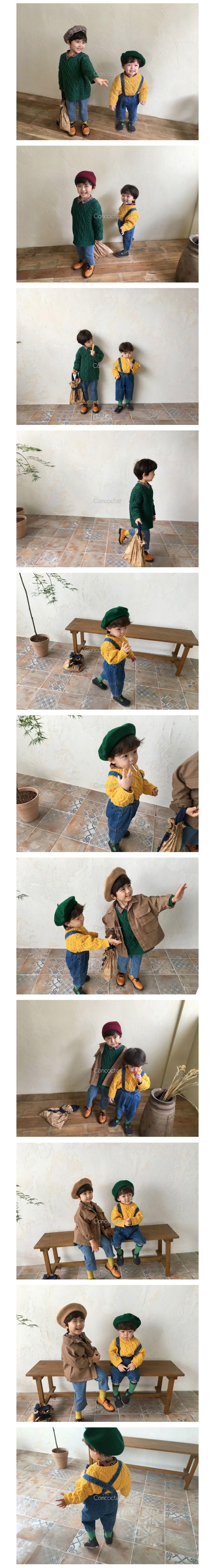 CONCOCTER - Korean Children Fashion - #Kfashion4kids - Pretty Twist Knit Pullover - 2