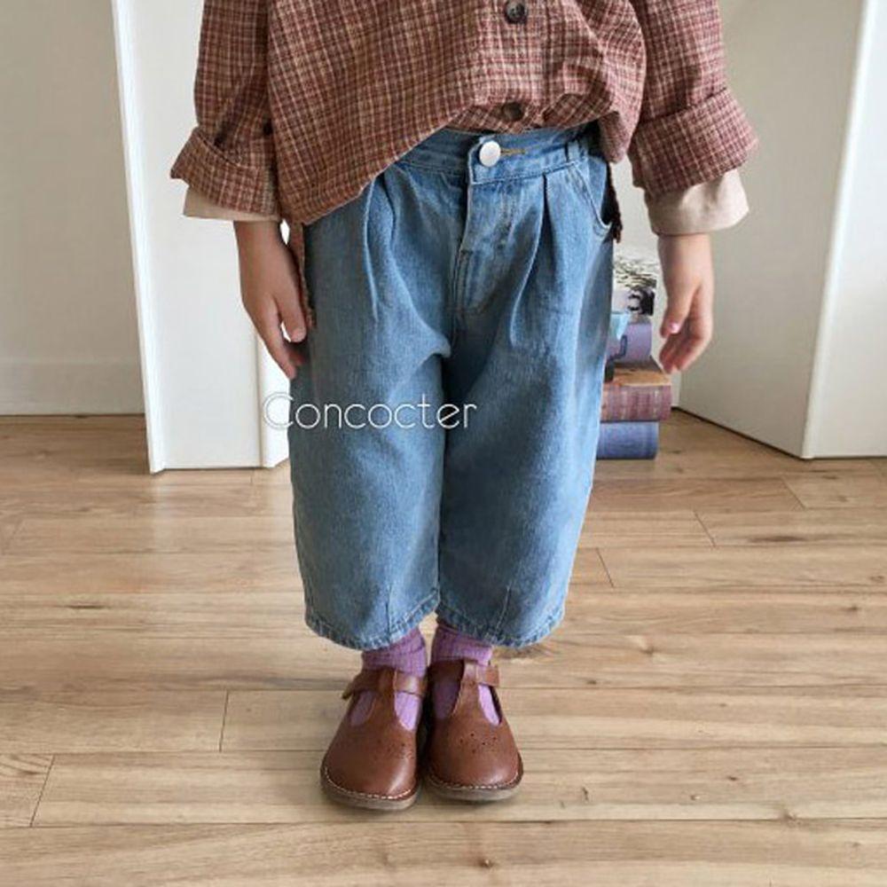 CONCOCTER - BRAND - Korean Children Fashion - #Kfashion4kids - Come Back Dart Baggy Pants