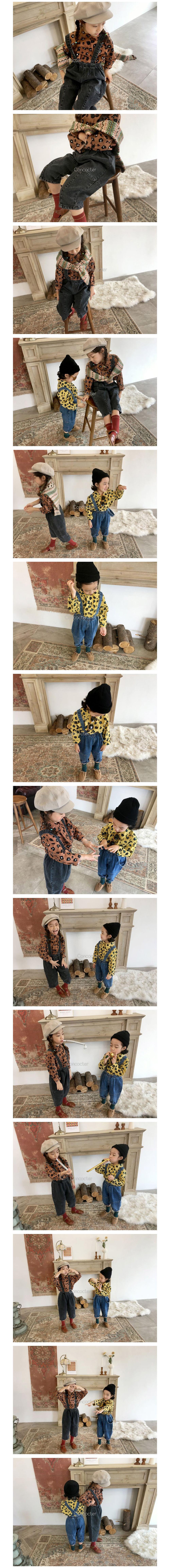 CONCOCTER - Korean Children Fashion - #Kfashion4kids - Honghong Leopard Shirt - 2