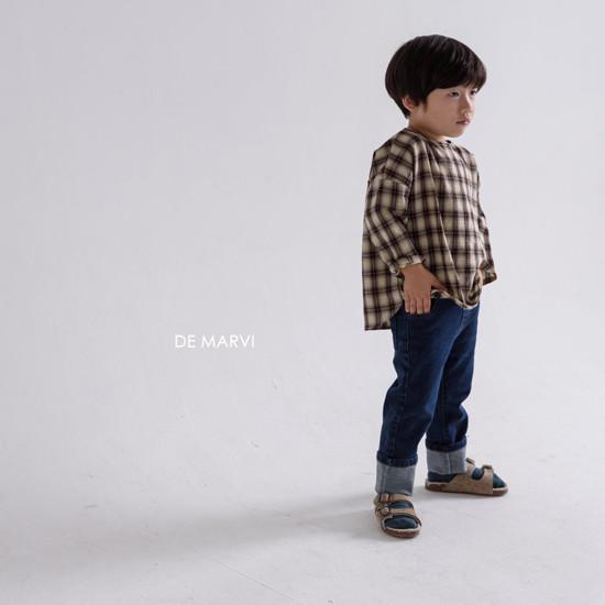 DE MARVI - Korean Children Fashion - #Kfashion4kids - Mim Check Blouse - 10