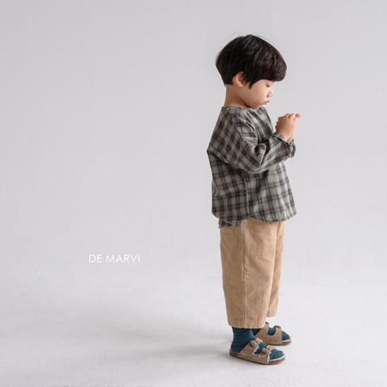 DE MARVI - Korean Children Fashion - #Kfashion4kids - Mim Check Blouse - 11