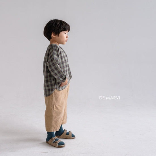 DE MARVI - Korean Children Fashion - #Kfashion4kids - Mim Check Blouse - 12