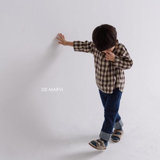 DE MARVI - Korean Children Fashion - #Kfashion4kids - Mim Check Blouse - 7