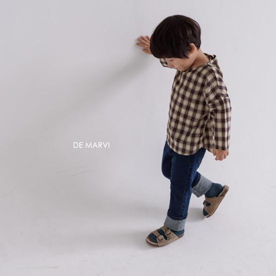 DE MARVI - Korean Children Fashion - #Kfashion4kids - Mim Check Blouse - 8