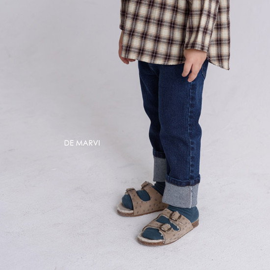 DE MARVI - Korean Children Fashion - #Kfashion4kids - Mim Check Blouse - 9