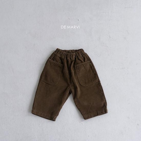 DE MARVI - Korean Children Fashion - #Kfashion4kids - Koku Pants - 3