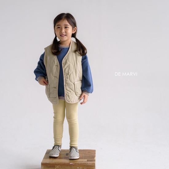 DE MARVI - Korean Children Fashion - #Kfashion4kids - Colored MTM - 5