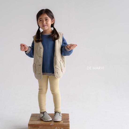 DE MARVI - Korean Children Fashion - #Kfashion4kids - Colored MTM - 6
