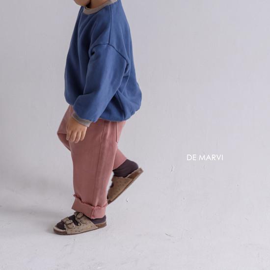 DE MARVI - Korean Children Fashion - #Kfashion4kids - Colored MTM - 7