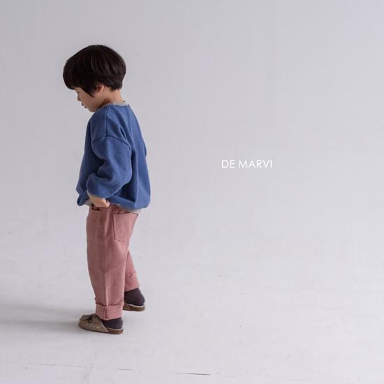 DE MARVI - Korean Children Fashion - #Kfashion4kids - Colored MTM - 9