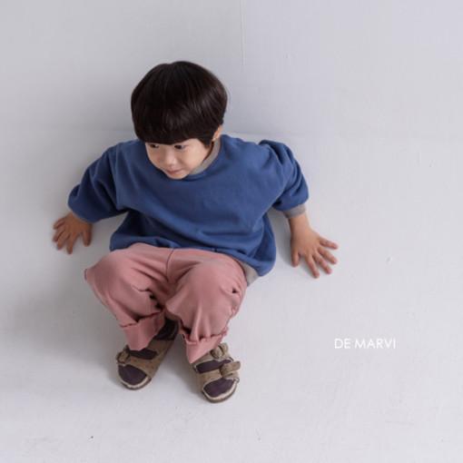 DE MARVI - BRAND - Korean Children Fashion - #Kfashion4kids - Colored MTM