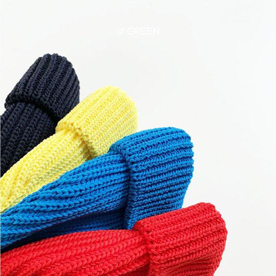 DIGREEN - Korean Children Fashion - #Kfashion4kids - Short Color Knit Beanie - 5