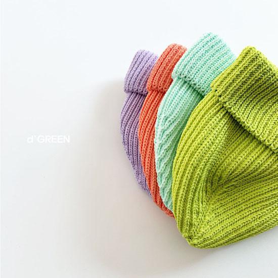 DIGREEN - Korean Children Fashion - #Kfashion4kids - Short Color Knit Beanie - 6