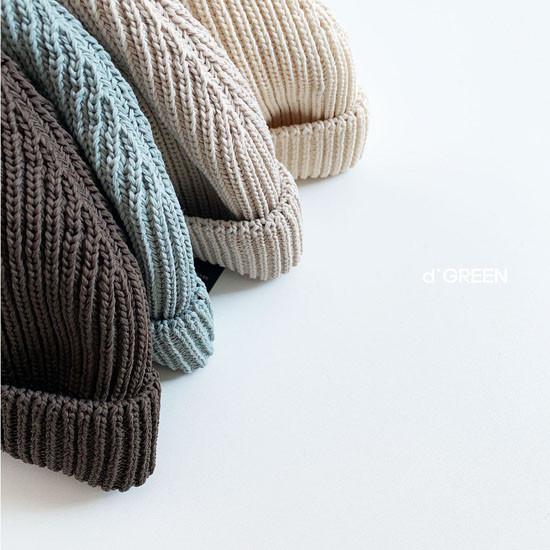 DIGREEN - Korean Children Fashion - #Kfashion4kids - Short Color Knit Beanie - 7