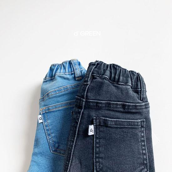 DIGREEN - Korean Children Fashion - #Kfashion4kids - Slim Fit Denim Pants - 8
