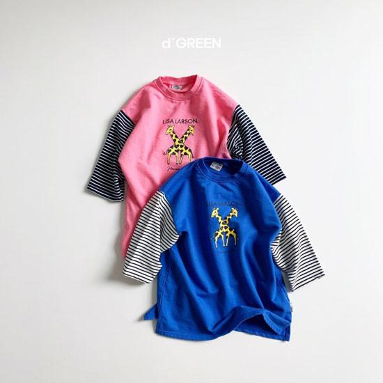 DIGREEN - Korean Children Fashion - #Kfashion4kids - Giraffe One-piece